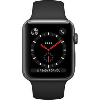 Apple Apple Watch 3 42mm Cell  Sport  space bk | MQM02ZD/A
