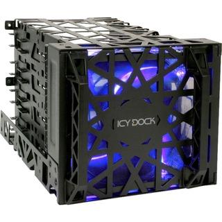 """Icy Dock MB074SP-B Black Vortex  für vier 3,5""""-Festplatten"""