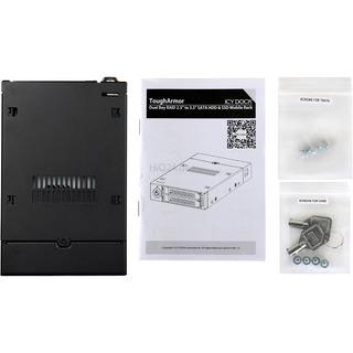Icy Dock ToughArmor MB992SKR-B, Wechselrahmen schwarz