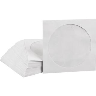 CD Paperbag MediaRange 100pcs,selbstklebend mit Fenster