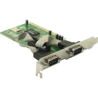 Schnittstellenkarte DeLock 2xSer PCI