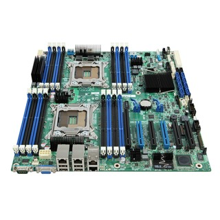 Intel® S2600CP2 Dual VGA 2x G-LAN SATA3 SAS Intel® C600-A