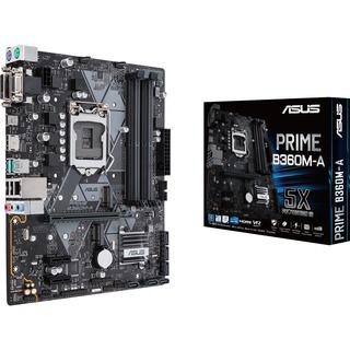 Asus PRIME B360M-A                  B360  mATX