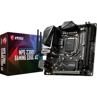 MSI MPG Z390I GAMING EDGE AC        Z390  Mini-ITX