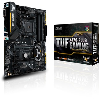Asus TUF X470-PLUS Gaming Mainboard AM4 ATX