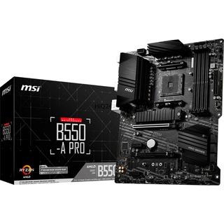 MSI B550-A PRO                      B550  ATX 2x PCIe