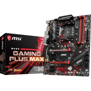 MSI B450 GAMING PLUS MAX            B450  ATX