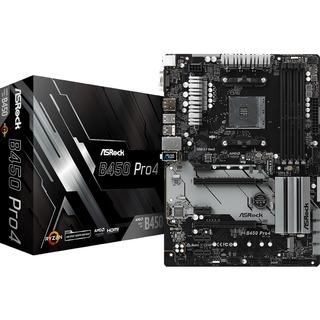 Asrock B450 Pro4                      B450  ATX