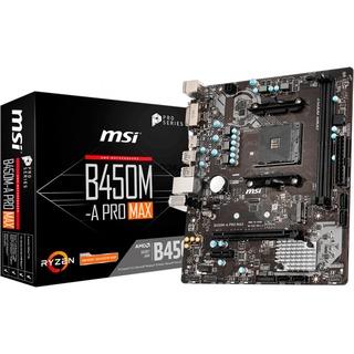 MSI B450M-A PRO MAX                 B450  ÁATX