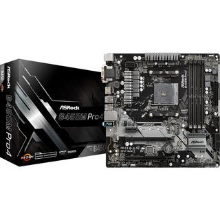 Asrock B450M Pro4                     B450  mATX