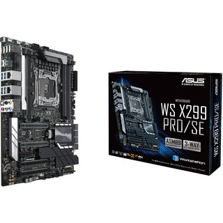 Asus WS X299 PRO/SE                 X299 G-LAN SATA3