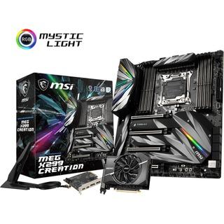 MSI X299 MEG X299 CREATION          X299 Sound G-LAN