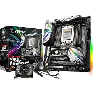 MSI MEG X399 CREATION               X399 Sound G-LAN