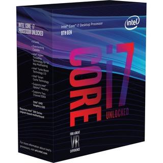 Intel 1151 Core i7-8700K   3700 1151V2 BOX  3.700 MHz 6