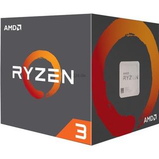 AMD Ryzen 3 1200  WRAITH 3100 AM4 BOX | Wraith Stealth