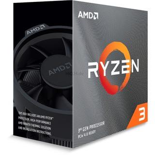 AMD Ryzen 3 3100  WRAITH 3600 AM4   BOX | Wraith