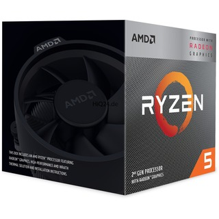 AMD Ryzen 5 3400G 4x3.7-4.2GHz