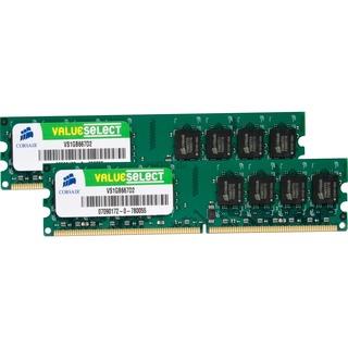 2048 MB Corsair DIMM 2 GB DDR2-667 Kit (VS2GBKIT667D2) CL5