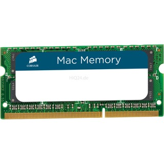 8192 MB Corsair SO-DIMM 8 GB DDR3-1333 (CMSA8GX3M1A1333C9,