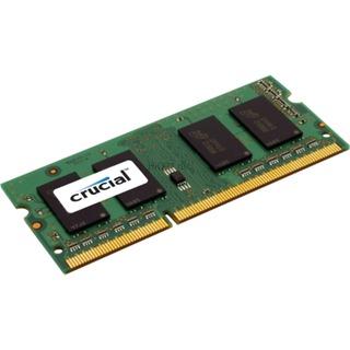 SO-DDR3 - (1x8) 8192MB Crucial - 1600MHz CL11 1.35V - 1.5V