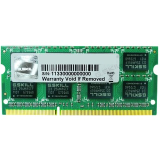 G.Skill SO-DIMM 8 GB DDR3L-1600, Arbeitsspeicher