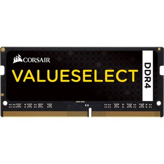 8GB (1x 8GB) Corsair SODIMM DDR4-2133, CL15 Value Select