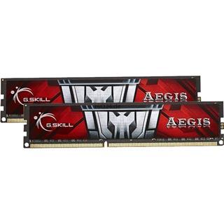 16GB (2x 8GB) G.Skill DDR3-1600 Kit CL11 AEGIS Series