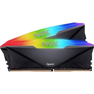 Apacer D416GB 3000-16 1024x8 NOX RGB  K2 APACER schwarz,
