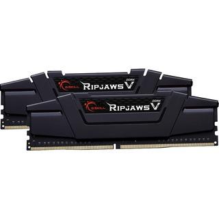 16GB (2x 8GB) G.Skill DDR4-3200 CL16 RipJaws V schwarz