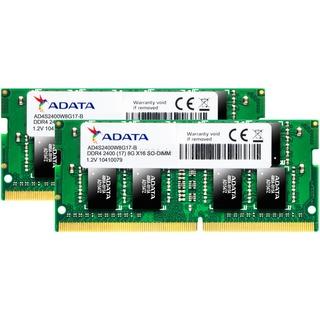 ADATA SO-DDR4  16GB 2400-17 K2 Premier