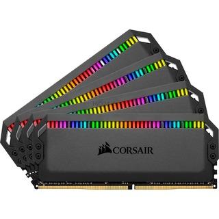 Corsair D432GB 3000-15 Dominator Plat.RGB K4 COR schwarz,