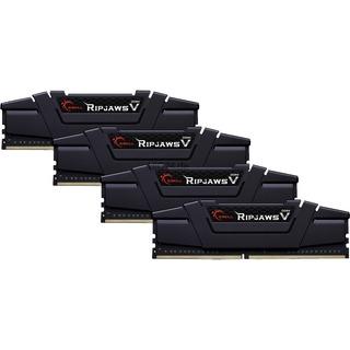 64GB (4x 16GB) G.Skill 64GB DDR4-2800 CL14 RipJaws V schwar