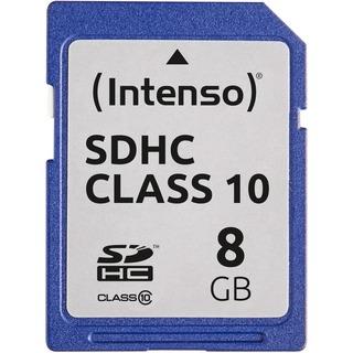 SD Card  8GB Intenso Class10