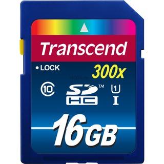Secure Digital 16384MB 20MB/s Transcend Secure Digital SDHC