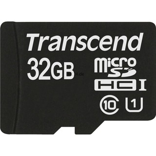 Secure Digital 32768MB Transcend microSDHC Card UHS-I 32 GB