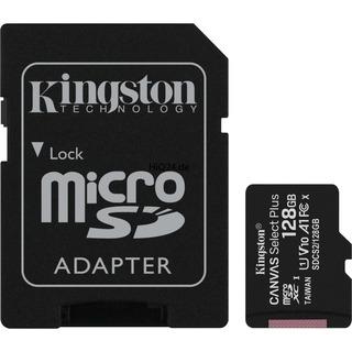 Kingston MicroSD128GB Canvas Select+ SDCS2    KIN schwarz,