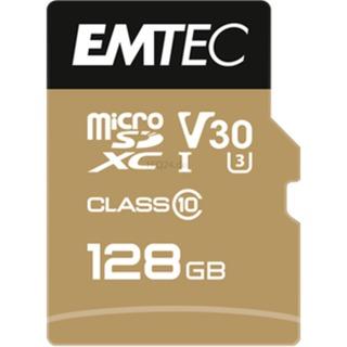 Emtec microSD 128GB  +1Ad    Cl10USH-1  U3 ETC Class 10,