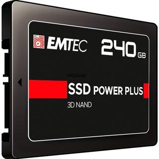 240 GB Emtec SSD 520/500  X150         SA3 ETC schwarz,
