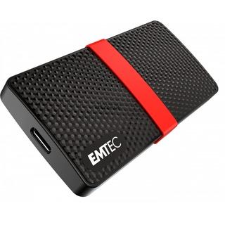 Emtec SSD 256GB 450/420  mSATA X200   USB3 ETC schwarz/rot,