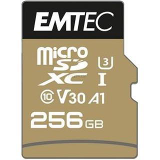 Emtec microSD 256GB SpeedIN PRO   USH-I U3 ETC Class 10,