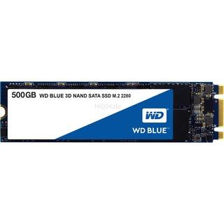 WD Blue 3D NAND SATA SSD WDS500G2B0B 500 GB - SATA 6Gb/s