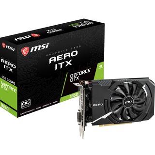 MSI 4GB D5  GTX 1650 Aero ITX 4G OC HDMI, DVI-D NVIDIA