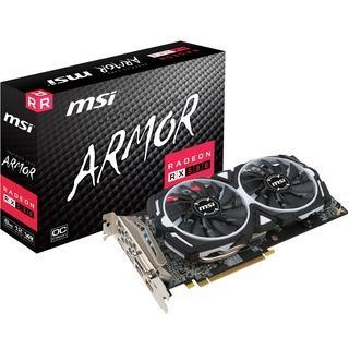 MSI Radeon RX 580 ARMOR 8G OC  8192MB.PCI-E.DVI.HDMI.DP
