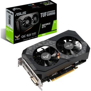 Asus 6GB D5  GTX 1660 TUF OC HDMI, DisplayPort, DVI-D