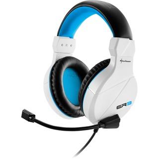 Sharkoon Rush ER3 white weiß, Klinke Over-Ear