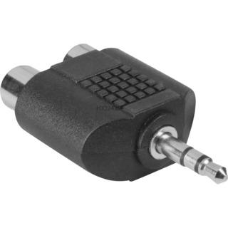 Audio&HiFi Zubehör goobay Adapter 3,5mm -> StereoCinch