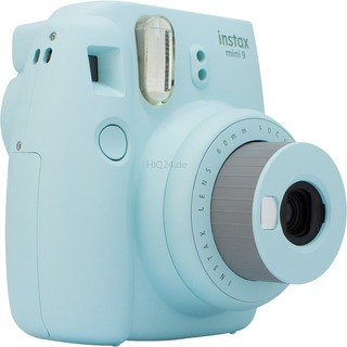 Fuji Photo Instax Mini 9 Sofortbildkamera   bu türkis