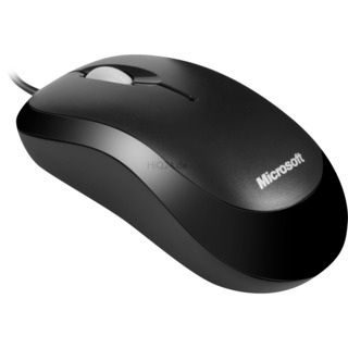 Maus Microsoft Ready Mouse (schwarz) schwarz USB 3 Tasten