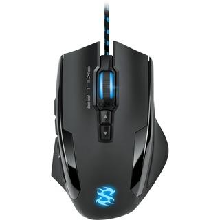 Sharkoon Skiller SGM1 Maus USB, 10 Tasten, 10800 dpi