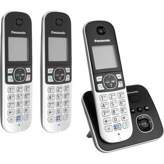 Panasonic KX-TG6823GB drei Mobilteile, mit Anrufbeantworter
